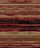 Rustic Lodge Layered Earth 5x8 Brown Area