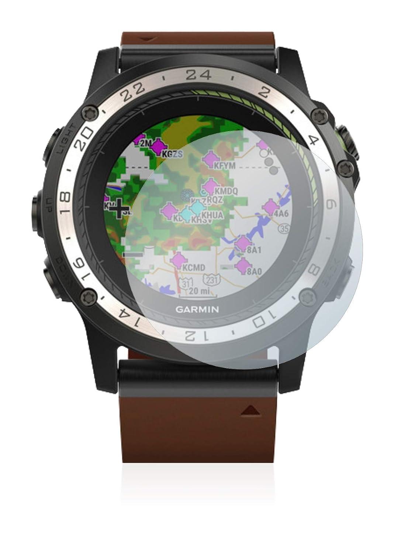 AirGlass BROTECT Protector Pantalla Cristal Compatible con Garmin D2 Charlie Vidrio 9H