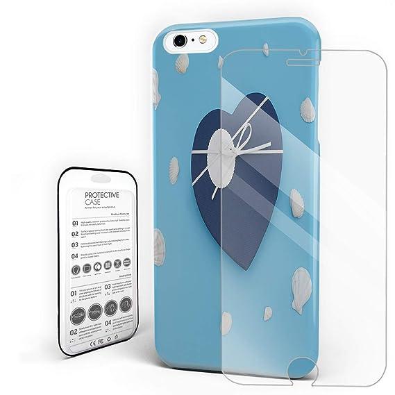 Amazon Com Romantic Heart Shaped Box And Shell Decorations Phone