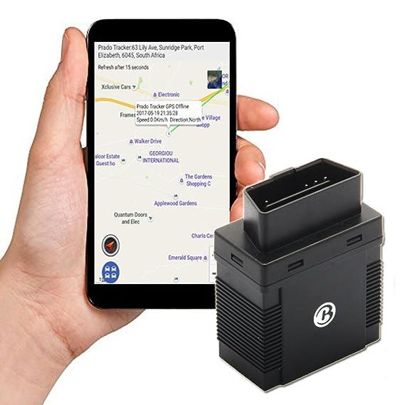 muxan GPS localizador GPS para Coche localización Seguimiento en Tiempo Real Imán Potente posicionamiento preciso 5 m tk306