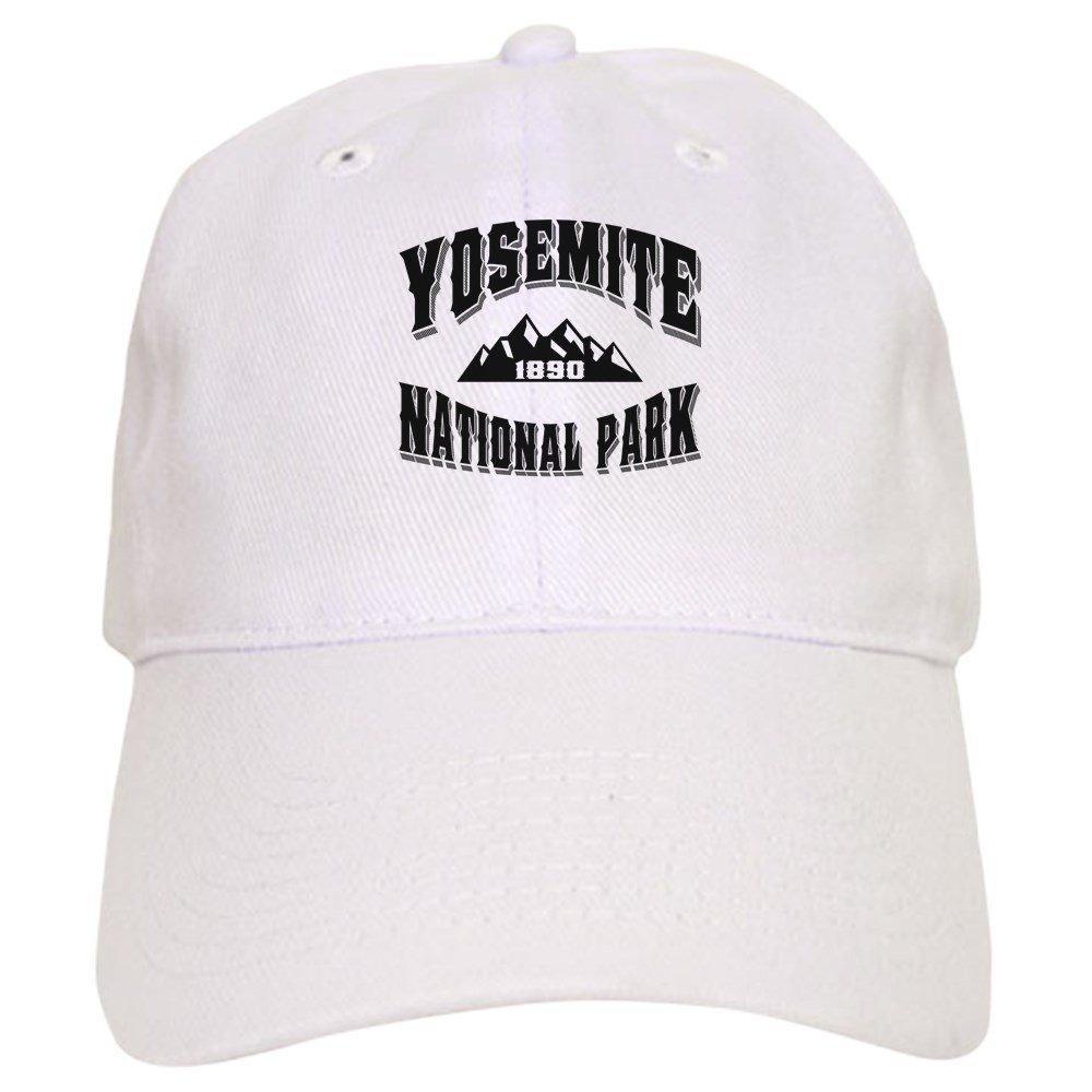 ccbef348885ef CafePress - Yosemite Old Style Black - Baseball Cap with Adjustable  Closure