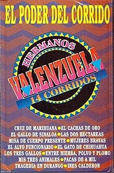 Hermanos Valenzuela - Hermanos Valenzuela De Amuco Guerrero (14 Corridos) BRCass-157 - Amazon.com Music