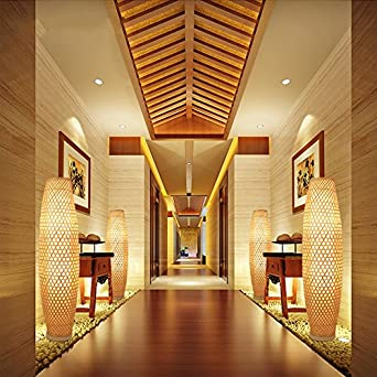 Bamboo Shoot Stehleuchte, ländliche Zen Wohnzimmer Studie ...