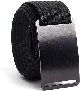 product image for GRIP6 Web Belts for Men - Nylon Belt- Fully Adjustable Casual Belt Strap & Belt Buckle