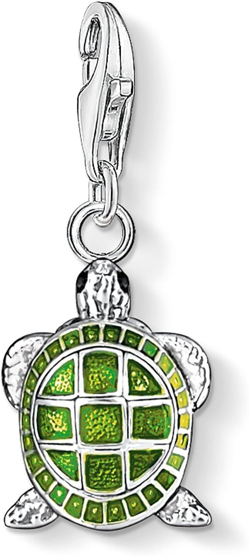 Thomas Sabo - Charm con Cierre para Mujer de Plata de Ley 925/1000