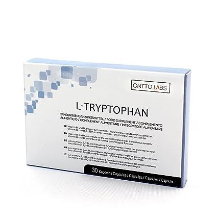 OnttoLabs Triptofano - Producto Natural para Reducir la Ansiedad y ...