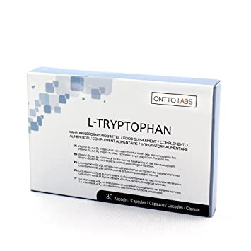 OnttoLabs Triptofano - Tabletas Naturales para Reducir la Ansiedad y el Estrés con L-Triptofano y ...
