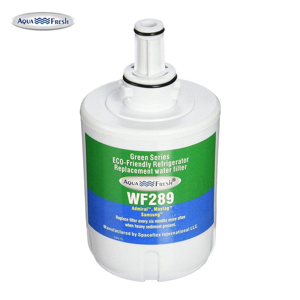 Aqua Fresh WF289 Replacement for Samsung DA29-00003G, DA29-00003B, HAFCU1 Refrigerator Water Filter
