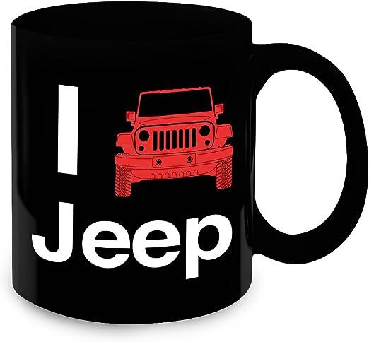 Jeep Girl Funny coffe mug for jeep dog lover