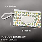 Joyous Journey Portable Wet Wipe Pouch Bags Set, 2