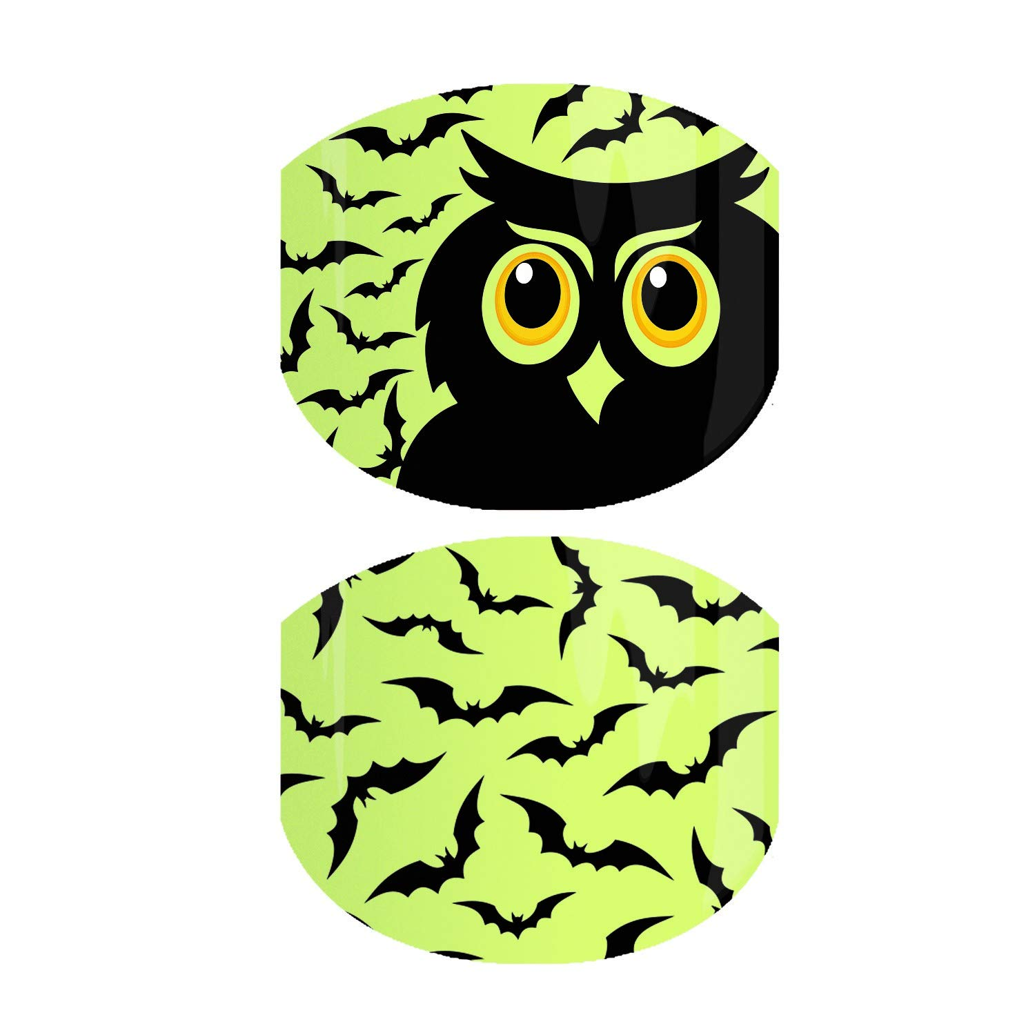 Jamberry Nail Wraps - Going Batty JR - Haloween Fall 2019 - Juniors Sizing Full Sheet - Limited Edition by Generic
