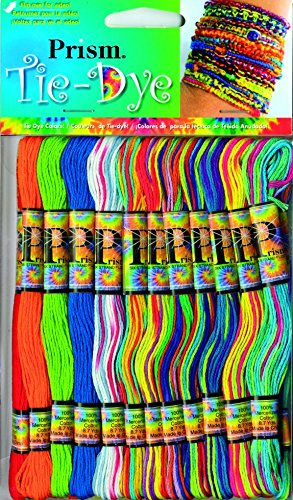 DMC Prism Floss Craft Threads Tie Dye Colours