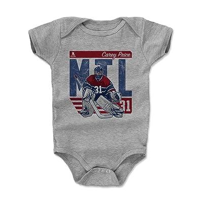 500 LEVEL Carey Price Montreal Hockey Baby Clothes & Creeper Onesie (3-6, 6-12, 12-18, 18-24 Months) - Carey Price City