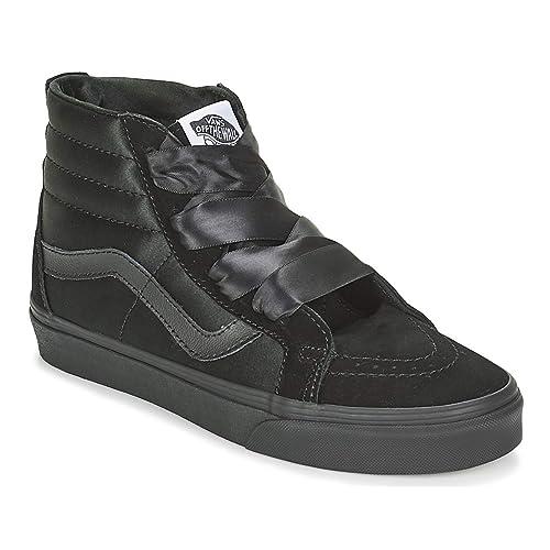 Vans Sk8-Hi Mujer Zapatillas Negro  Amazon.es  Zapatos y complementos 32a60264dba