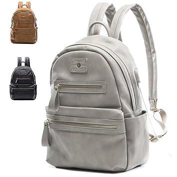 Mochila para mujeres Miss Fong, mochila escolar para portátil de 13 pulgadas, mochila de