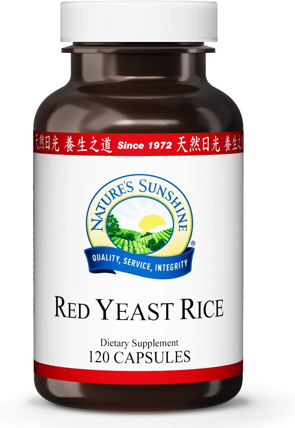 Nature's Sunshine Red Yeast Rice 120 Capsules: Health & Personal Care
