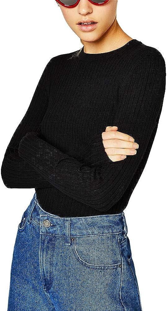 Raya Jers/éis Mujer Invierno Blanco Negro Tumblr Moda Casual Sueter Jersey Pullover Ropa