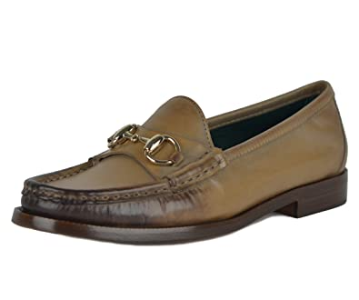 d5a252cc52a Gucci Shoes Horsebit Loafers 1921 Collection Hand Shaded Leather (IT 35.5    US 5.5)