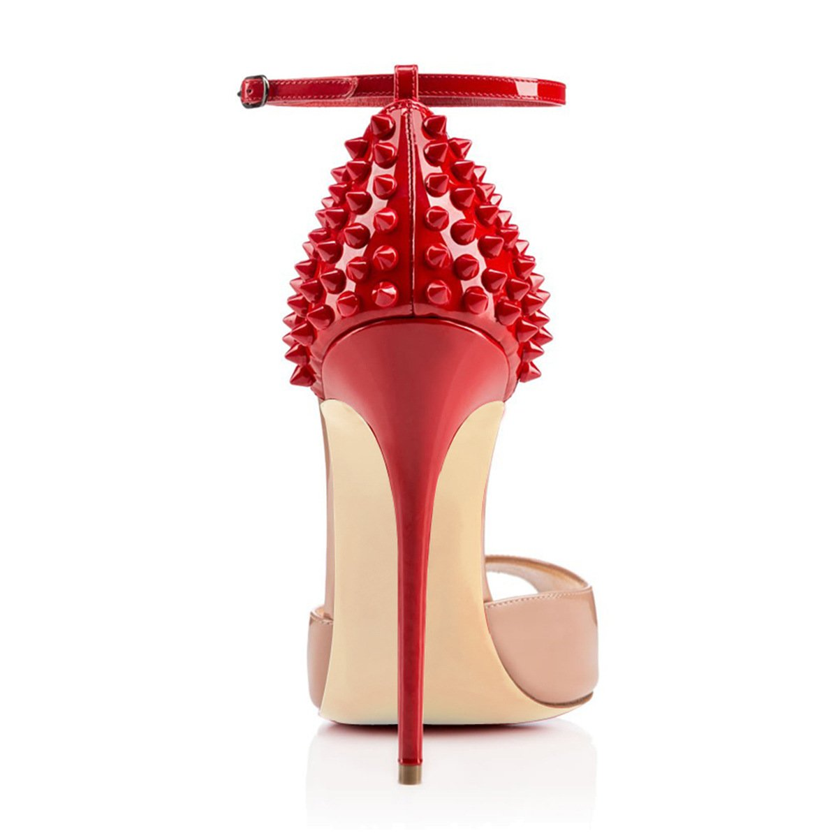 Color : A, Size : 43 XUEXUE Womens Shoes PU Spring//Summer Pointed Shoes Heels Stiletto Heel Wedding//Party /& Evening//Dress Formal Business Work Red