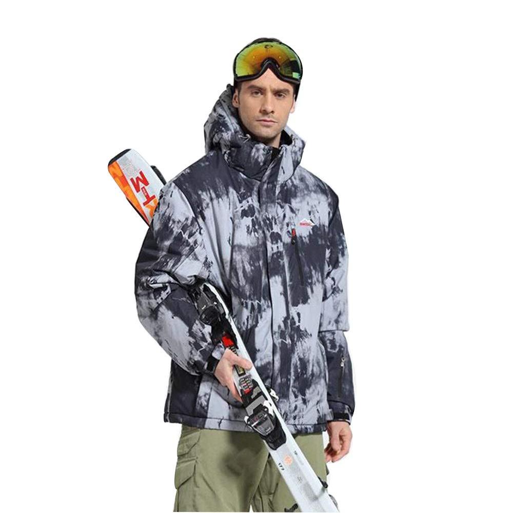 Aszhdfihas Skianzug Einzel- und Doppel-Board winddichter Outdoor Skianzug Schneeanzug Winter (Größe   M)