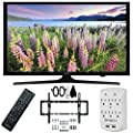 Samsung UN50J5000 - 50-Inch Full HD 1080p LED HDTV Flat & Tilt Wall Mount Bundle includes 50-Inch LED HD TV, Flat & Tilt Wall Mount Kit and Surge Protector with USB Ports