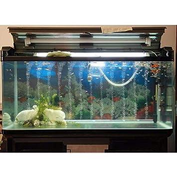 Fish Tank Pump Hydroponic Oxygen Plate Mini Aquarium Accessories Through Pipe