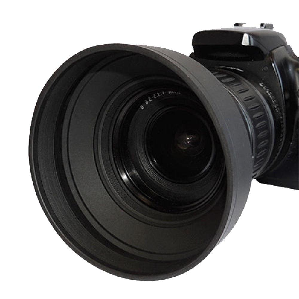 72mm Tulip Flower Lens Hood 72MM Lens Cap for Sony CyberShot DSC-RX10 III DSC-RX10 IV Digital Cameras