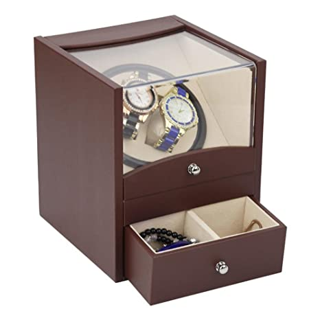 jianbo Watch Winde Caja para Relojes joyero caja de reloj relojes Estuche guardar o joyas Watch