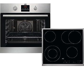AEG Kombi B 302 P Cerámico Horno eléctrico sets de electrodoméstico de cocina - Sets de