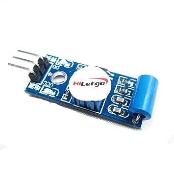 Interruptor SW- 420 NC Tipo Vibración Sensor Module vibración para Arduino Smart Car