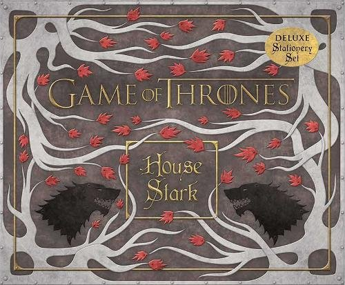 Book cover from Game of Thrones: House Stark Deluxe Stationery Set (Insights Deluxe Stationery Sets) by HBO
