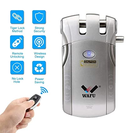 Cerradura de control remoto inteligente keyless de WAFU ...