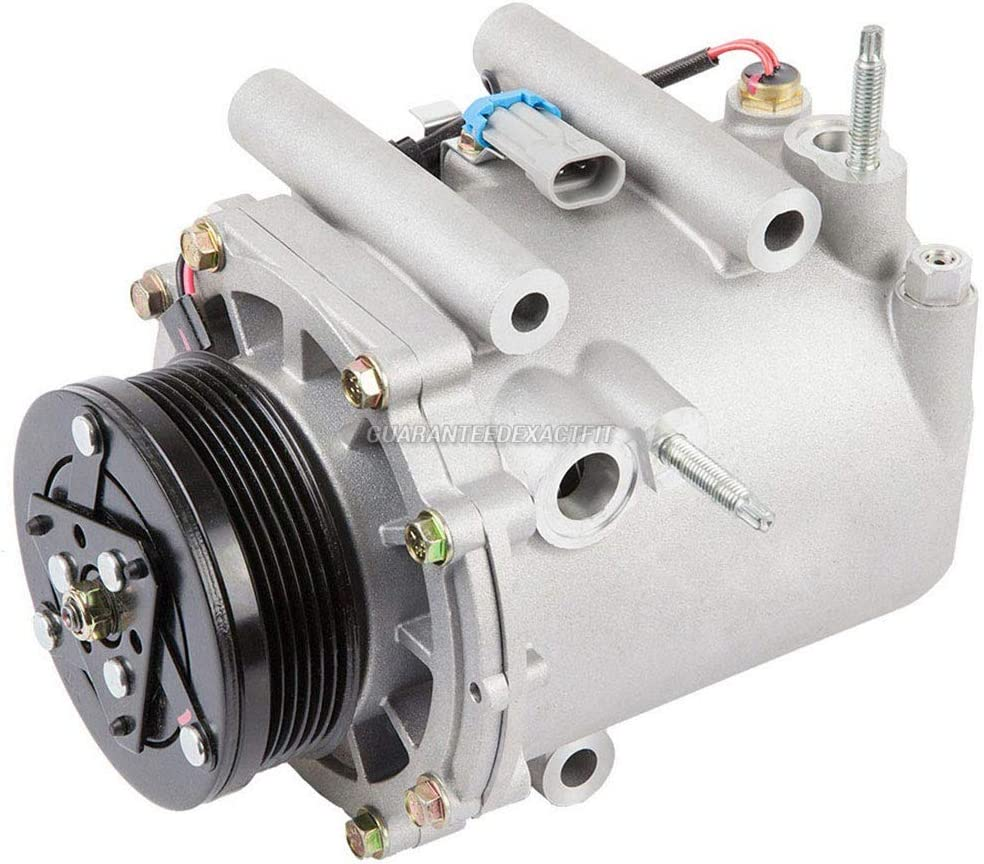 BuyAutoParts 60-86144R2 NEW For Chevy Venture /& Oldsmobile Silhouette AC Compressor w//A//C Drier