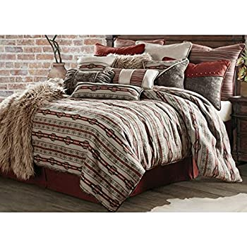 f7e5e215017 Amazon.com  HiEnd Accents 3 Piece BlackBerry Comforter Set Super ...