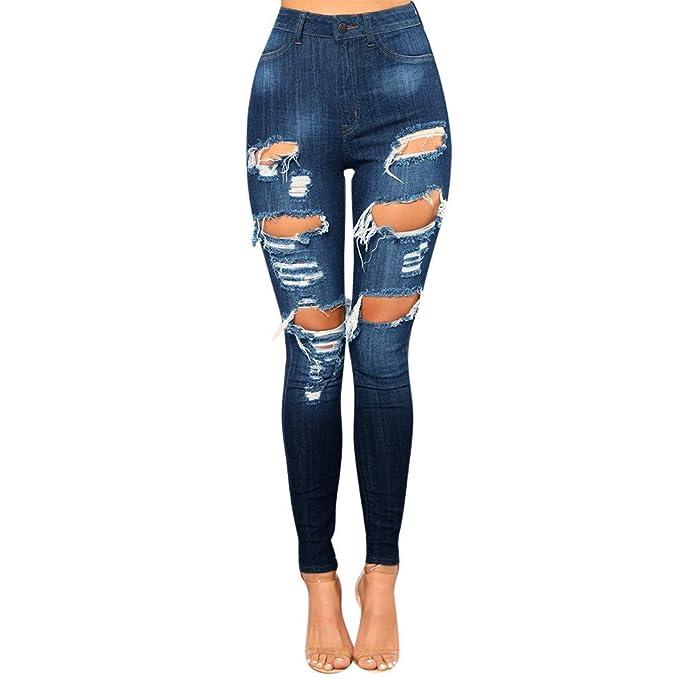da86f81a56 Hot!! Women Sexy Skinny Jeans GoodLock Ladies Fashion Denim Hole Hollow  Zipper Fly Tight