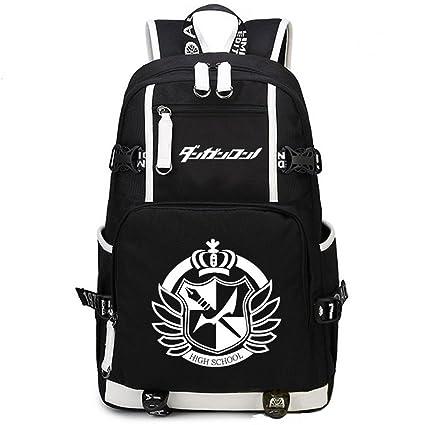 defe5ed62e YOYOSHome Anime Danganronpa Cosplay College Bag Daypack Bookbag Backpack  School Bag