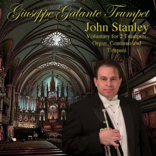John Stanley: Voluntary in D Major for 2 Trumpets, Organ, Continuo and - Organ Trumpet Voluntary