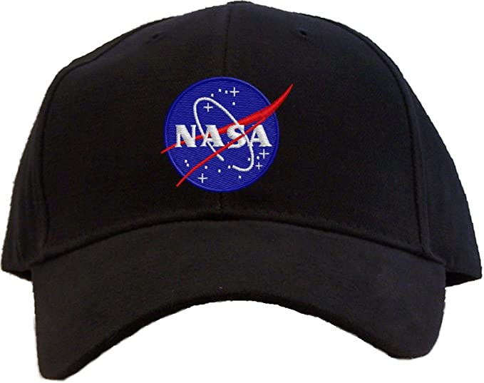 Image Unavailable. Image not available for. Color  Nasa - Meatball Insignia  Embroidered Baseball Cap - Black c7b86bad73d5