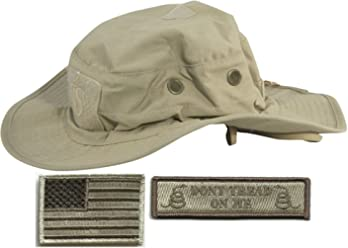 3dbd7b2dd9cfe Gadsden and Culpeper Operator Boonie Hat Bundle   Patches - USA DTOM