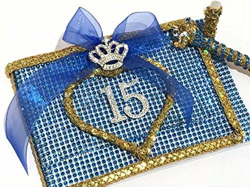 (Mis Quince Años Guest Book Quinceañera Libro De Firmas Royal Princess Theme Sweet 15)
