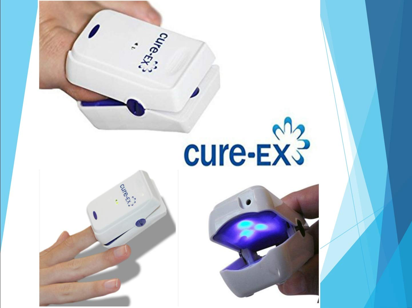 Professional Nail Fungus Treatment Laser Device - Safe Natural Antifungal Treatment for Home Use - Toenail Fungus Medication - Yellow Fungi Nail Remover - 7 Minutes a Day - Don't Be Embarrassed Again by Fungus CureX