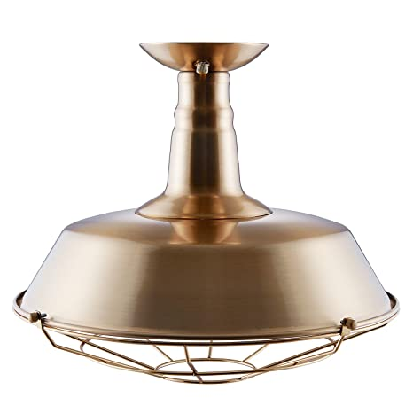 Amazon.com: Amero Flush Mount - Lámpara de techo, Bronce ...