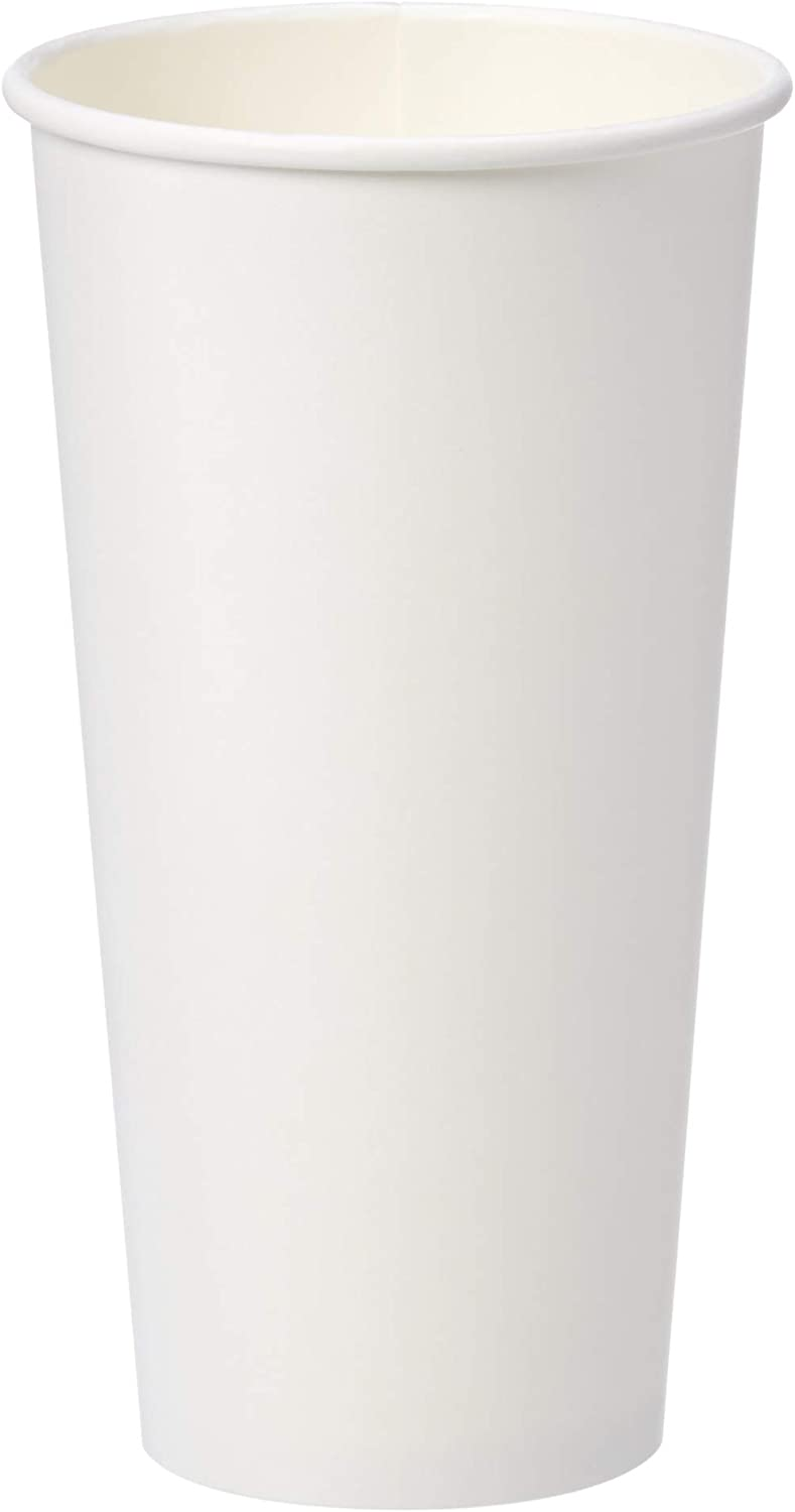 AmazonBasics Compostable 20 oz. Hot Paper Cup, Pack of 250