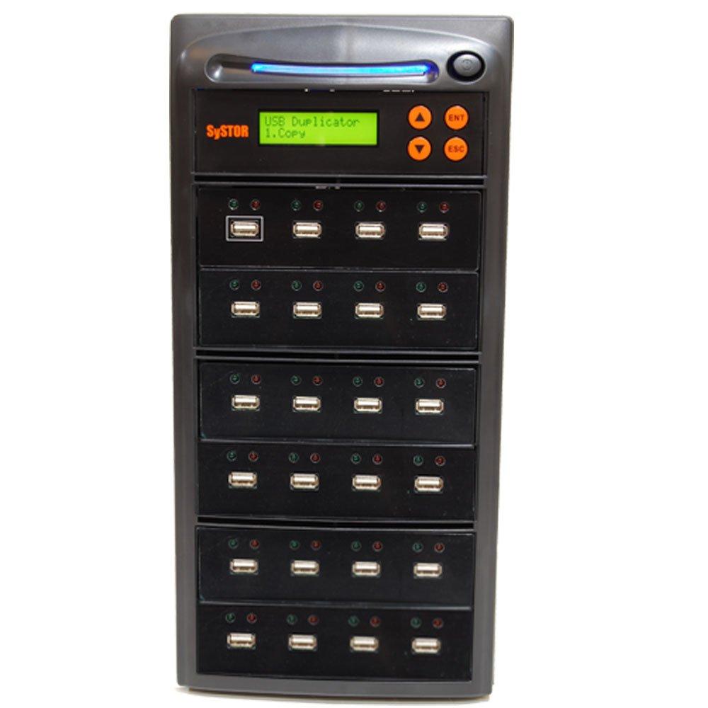 SySTOR 1 to 23 Multiple USB Thumb Drive Duplicator / USB Flash Card Copier (USBD-23)