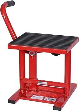 Gato elevador para motocicletas de hasta 135 kg Taller mecánico Reparación moto Altura 31-41 cm: Amazon.es: Bricolaje y herramientas