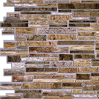 Brown flagstone pvc 3d wall panels interior - Residential interior wall panel systems ...