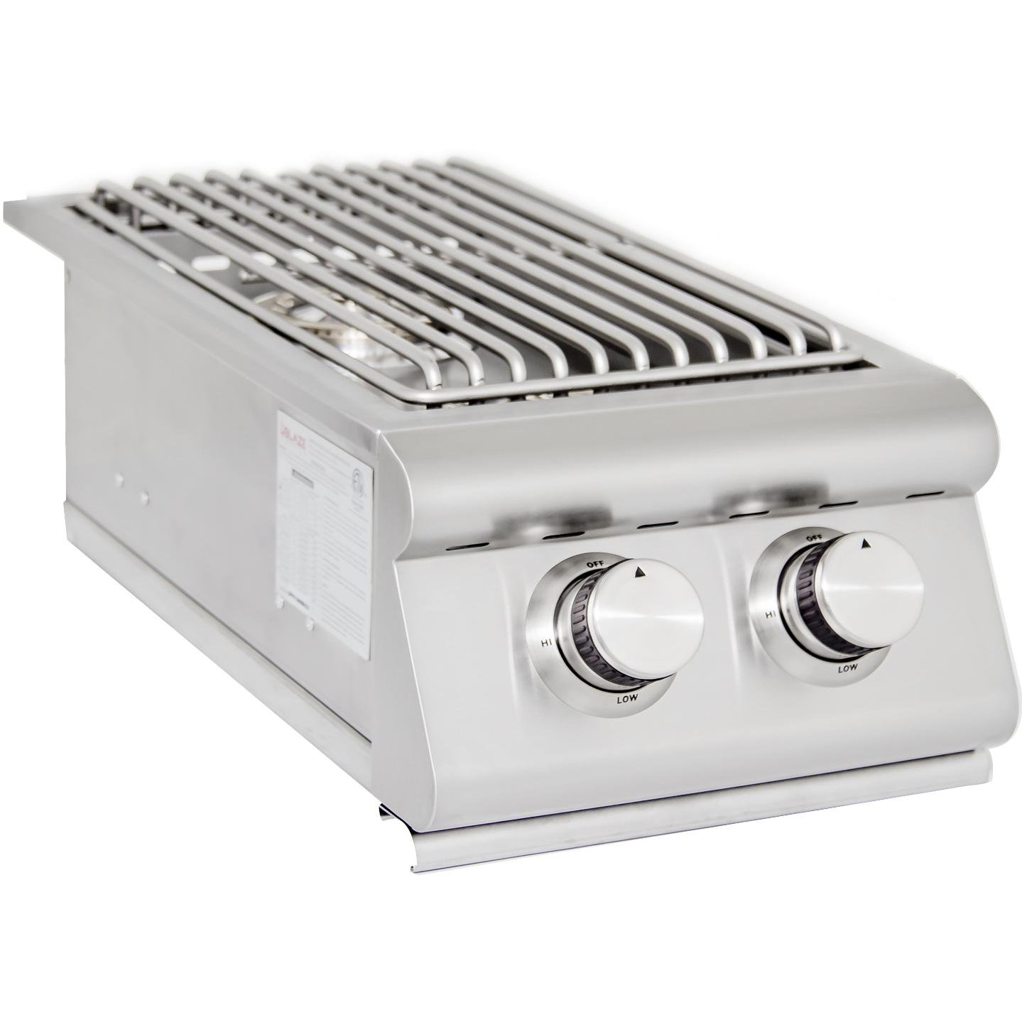 Blaze BLZ-SB2R-LP Built-In Double Burner, Propane