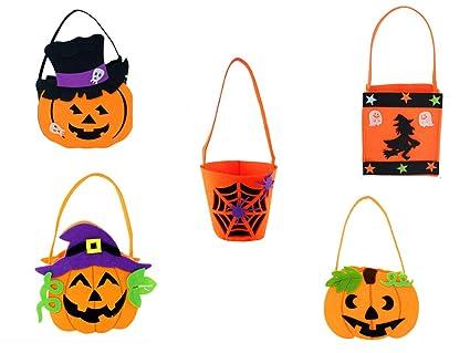 Amazon.com: BBKANI 5 paquetes de Halloween DIY calabaza ...