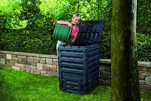 Exaco 628001 Eco-Master Polypropylene Composter, 120-Gallon, Black by Exaco Trading Company (Image #2)