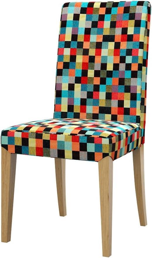 Soferia IKEA HENRIKSDAL Funda Silla, Mozaik Red: Amazon.es